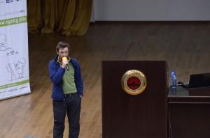 Вячеслав Стоянов на Форум КЛЮЧ-ПЛЮС в УНСС